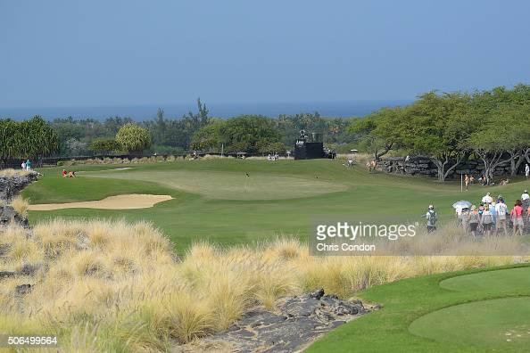 KA'UPULEHUKONA HI JANUARY 23 A view of the 8th green during the final round of the PGA TOUR Champions Mitsubishi Electric Championship at Hualalai...