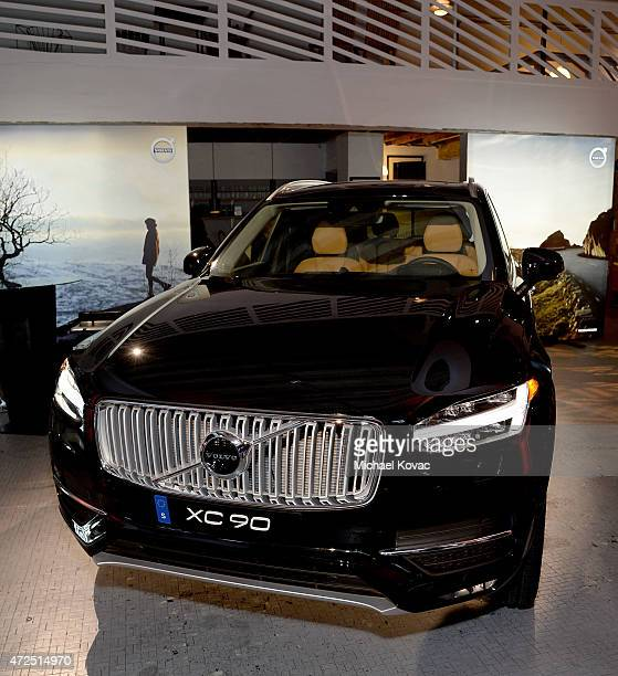 View of The AllNew XC90 at Volvo Cars and Avicii Feeling Good About The Future on May 7 2015 in Los Angeles California