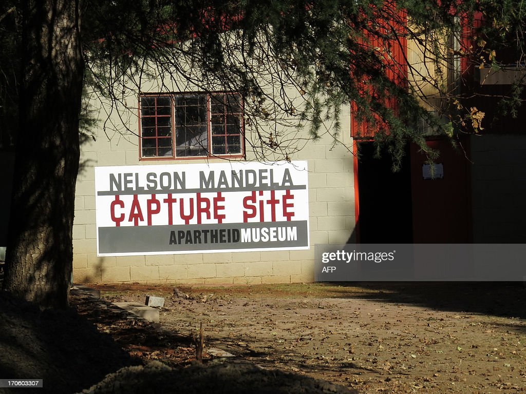 A view of the Apartheid Museum near the 'capture site' of former South African President Nelson Mandela in Howick, approximately 150 kilometers west of Durban, in the KwaZulu Natal midlands. Mandela's 'long walk to freedom was interrupted for 27 years on the R103, the old main road 5km from Howick, where he was captured on his return journey to Johannesburg', according to the museum. Nelson Mandela was admitted to a Pretoria hospital on June 8, 2013, because of a recurring lung infection. Nelson Mandela seems to be on the road to recovery from a recurrent lung infection, a grandson said today after visiting the anti-apartheid hero in hospital. AFP PHOTO / Anesh Debiky