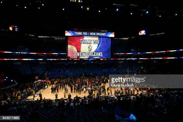 View of the arena during the NBA AllStar Game as part of the 2017 NBA All Star Weekend on February 19 2017 at the Smoothie King Center in New Orleans...