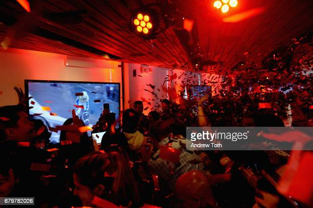 A view of the atmosphere at GH Mumm and Usain Bolt's Toast to the Kentucky Derby on May 6 2017 in New York City