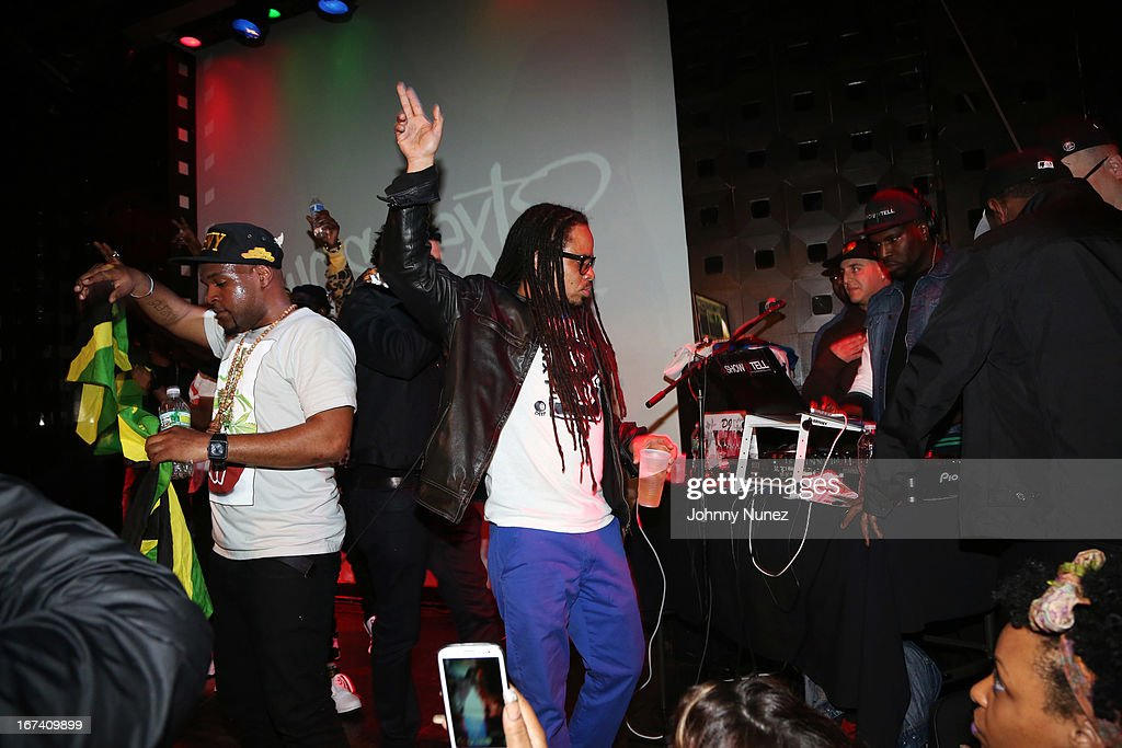 A view of the atmosphere at Hot 97's Who's Next Live: Reggae Edition at S.O.B.'s on April 24, 2013 in New York City.