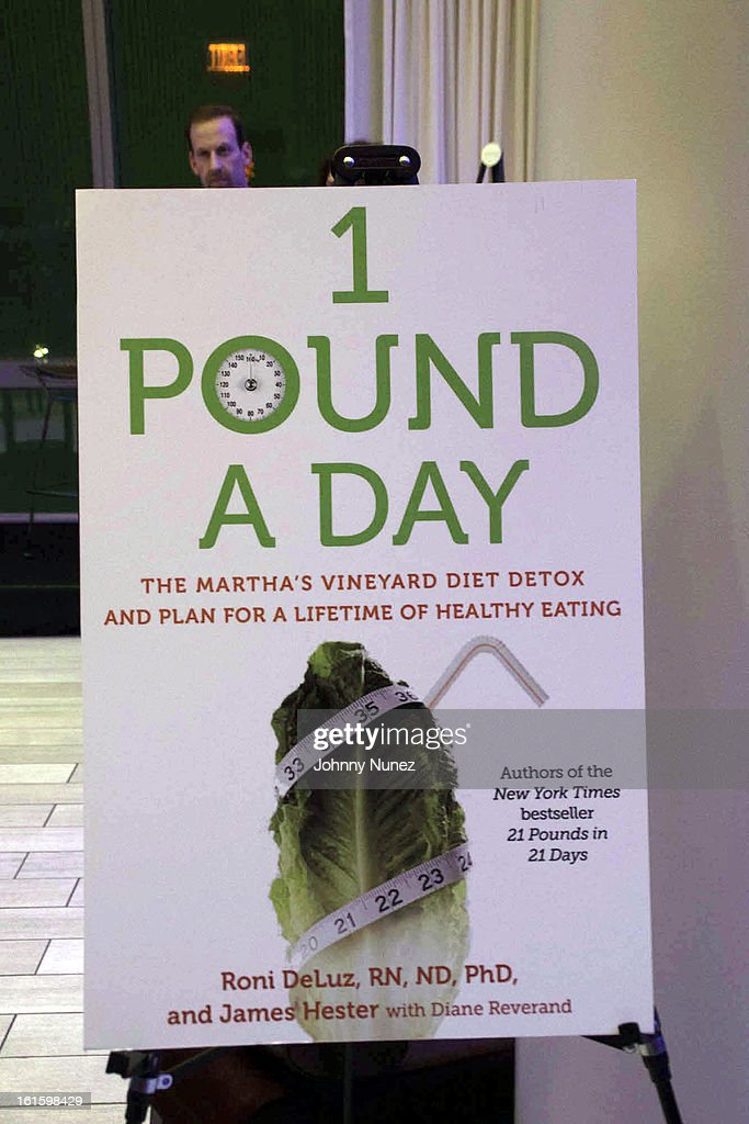 A view of the atmosphere at the '1 Pound A Day: Martha's Vineyard Diet Detox' Pre-Launch Book Party at Trump SoHo on February 11, 2013 in New York City.