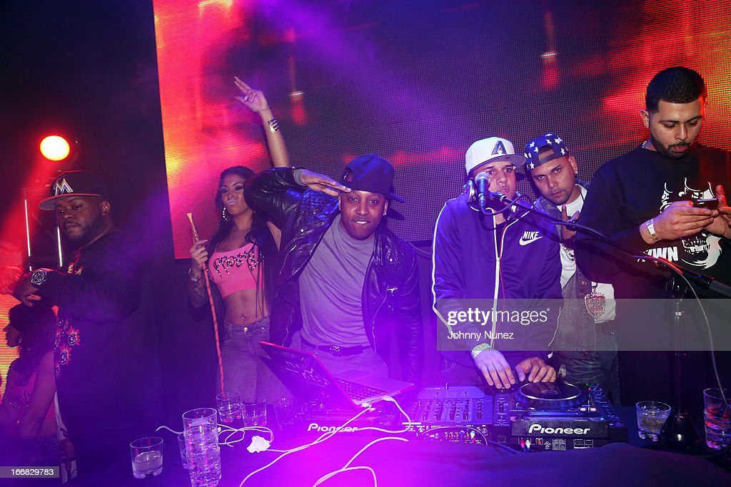 A view of the atmosphere at the 2nd Annual DJ Prostyle Birthday Bash after party at Stage 48 on April 16, 2013, in New York City.