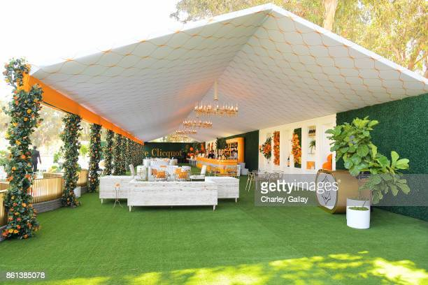 A view of the atmosphere at the Eighth Annual Veuve Clicquot Polo Classic on October 14 2017 in Los Angeles California