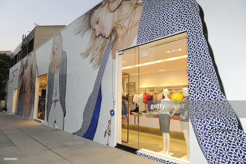 A view of the atmosphere at the LOFT Pop-Up on Robertson Blvd event on March 12, 2013 in Los Angeles, California.