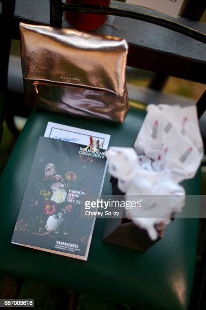 A view of the atmosphere at the Wolk Morais Collection 5 Fashion Show at Yamashiro on May 22 2017 in Los Angeles California