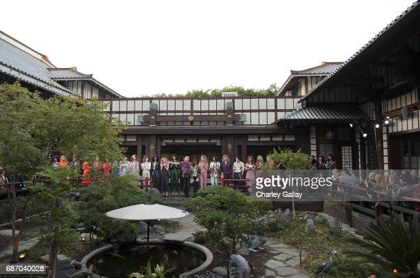A view of the atmosphere at the Wolk Morais Collection 5 Fashion Show on May 22 2017 in Los Angeles California