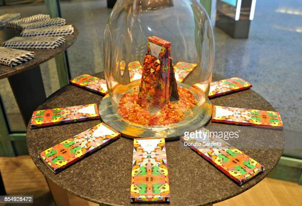 A view of the atmosphere during the Compartes Chocolatier Century City Flagship Store Opening on September 27 2017 in Los Angeles California