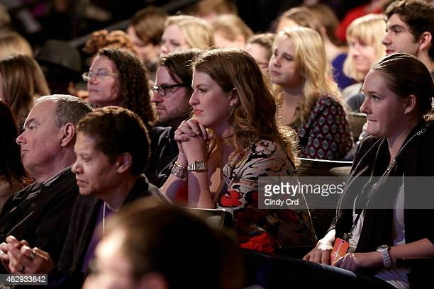 A view of the audience during a panel discussion following the Primetime Series Screening ABC presents 'American Crime' during aTVfest presented by...