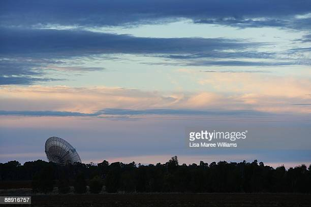A view of the Australian Commonwealth Scientific and Industrial Research Organisation's Australia Telescope National Facility Parkes Observatory...