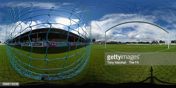 A view of The Automated Technology Group Stadium during the FA WSL 1 match between Birmingham City Ladies and Chelsea Ladies FC at The Automated...