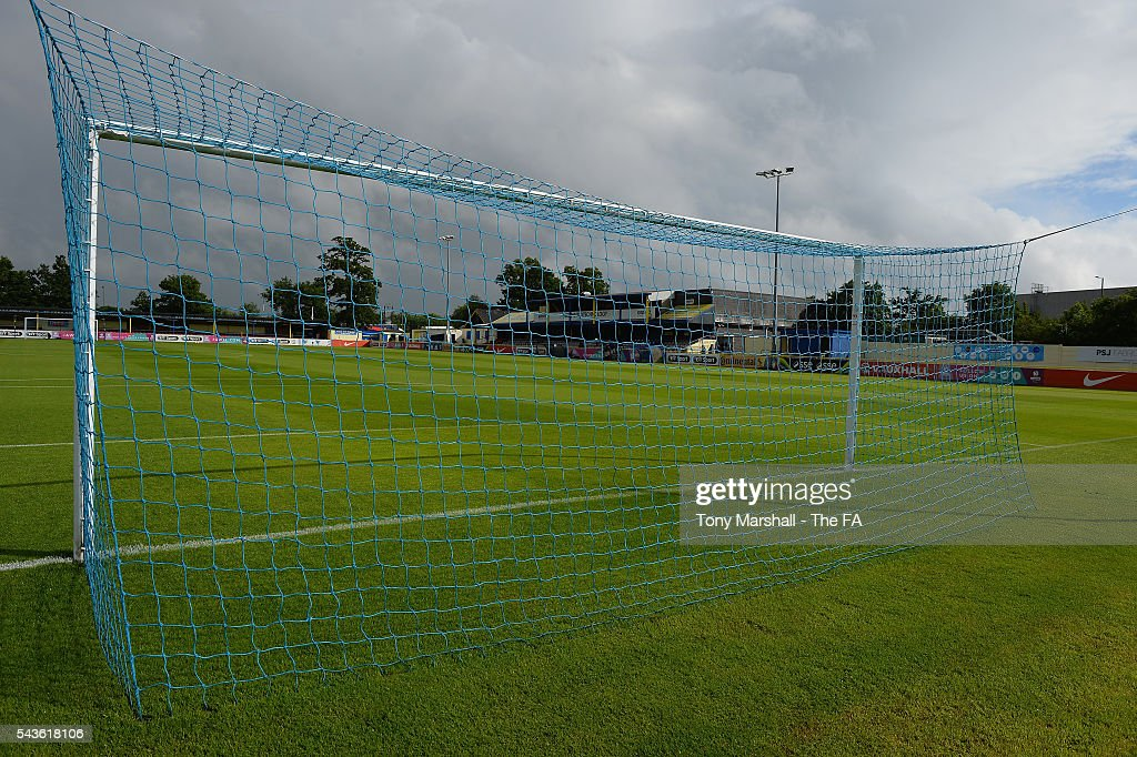 A view of the Automated Technology Stadium, home of Birmingham City Ladies FC before the WSL match between Birmingham City Ladies and Arsenal Ladies FC at Automated Technology Stadium on June 29, 2016 in Solihull, England.