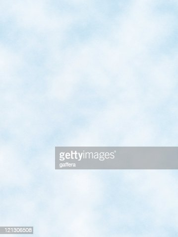 A view of the baby blue sky and clouds drifting