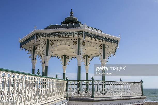 A view of the Bandstand on Brighton's beachfront