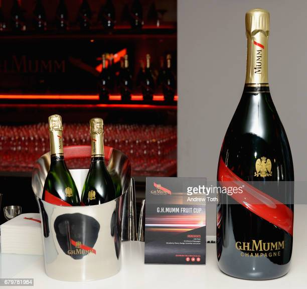 A view of the bar at GH Mumm and Usain Bolt's Toast to the Kentucky Derby on May 6 2017 in New York City