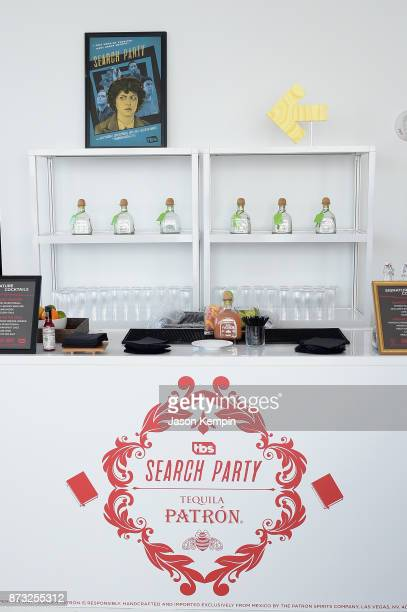 A view of the bar with Patron Silver Tequila during the TBS Comedy Festival 2017 Search Party Presents S1 Binge Bloody Maria Brunch on November 12...