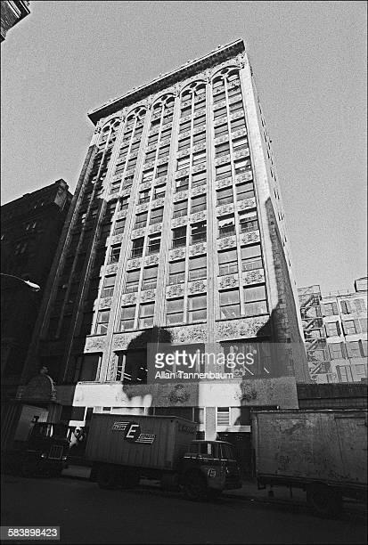 View of the BayardCondict Building on Bleecker Street New York New York October 15 1974