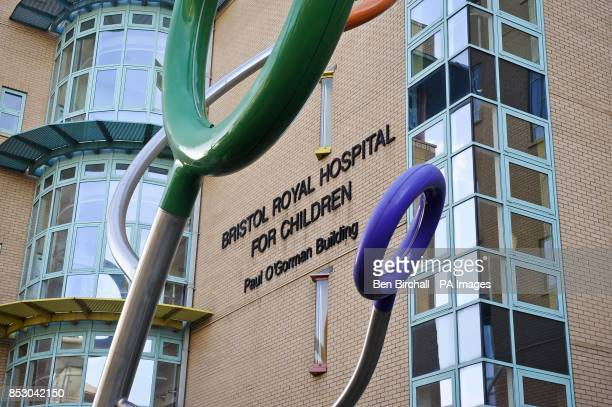 A view of the Bristol Royal Hospital for Children 'Paul O'Gorman Building' as an independent review is to be held into the hospital's paediatric...