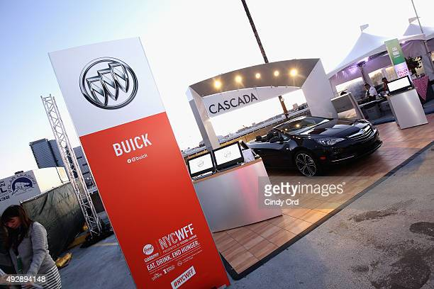 A view of the Buick station at Giada De Laurentiis' Italian Feast presented by Ronzoni sponsored by The New York Post during Food Network Cooking...