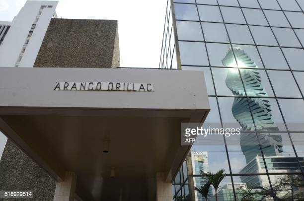 View of the building where Panamabased Mossack Fonseca law firm offices are placed in Panama City on April 3 2016 A massive leak of 115 million tax...