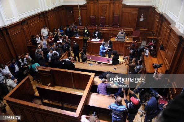 View of the Cape Town High Court on December 5 2012 in Cape Town South Africa Xolile Mngeni was sentenced to life in prison for the murder of Anni...