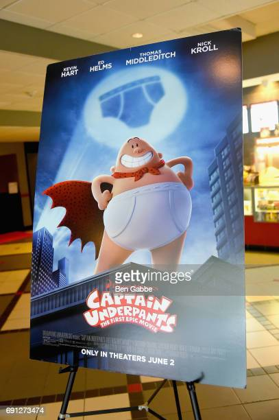 A view of the Captain Underpants screening during Greenwich International Film Festival Day 1 on June 1 2017 in Greenwich Connecticut