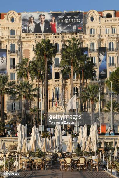 View of the Carlton Hotel during MIPCOM on October 16 2017 in Cannes France