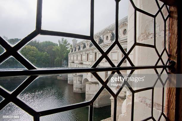 View Of The Cher River And The Gallery From A Window In The Chateau De Chenonceau Chenonceau IndreEtLoire France