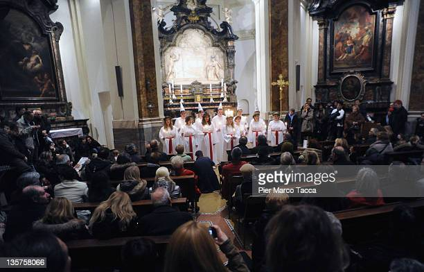 Santa Lucia Choir Stock Photos and Pictures | Getty Images