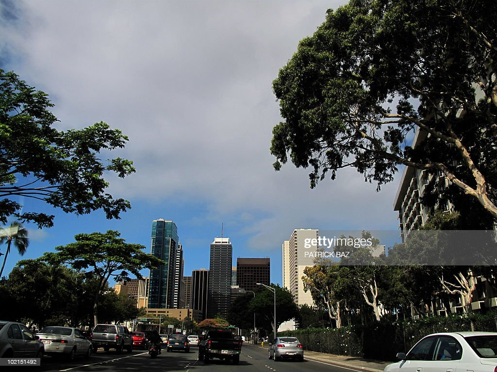 View of the City of Honolulu on June 15, 2010.