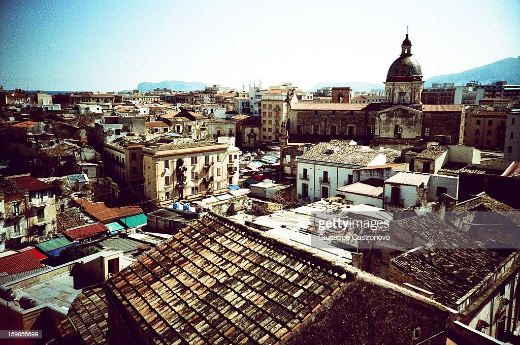 CONTENT] View of the city of Palermo from the Tower of San Nicolò.