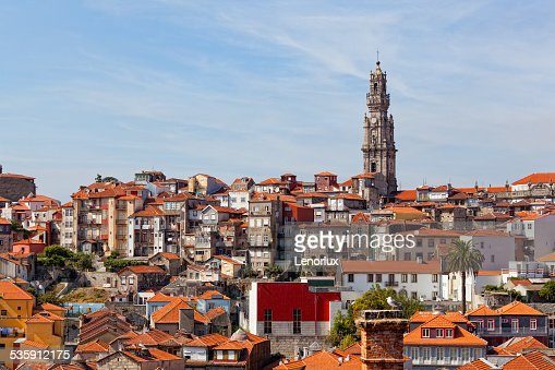 Vista da Cidade do Porto : Foto de stock