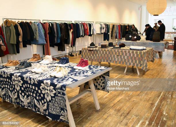 A view of the collection at Visvim Presentation during New York Fashion Weekon February 11 2017 in New York City