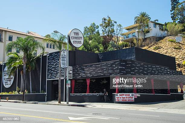 A view of The Comedy Store in West Hollywood on July 22 2014 in Los Angeles California