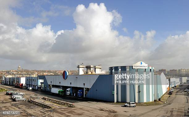 A view of the Continentale Nutrition factory site in BoulognesurMer on February 27 2014 One of the two prospective buyers of Continentale Nutrition...