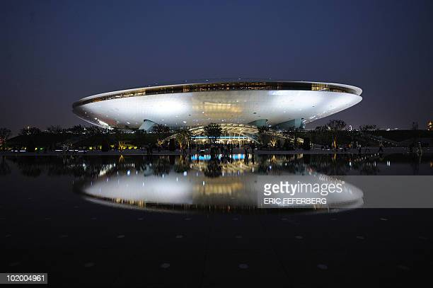 View of the cultural center at the World Expo in Shanghai on May 1 2010 Shanghai unveiled to the world its multibillion dollar World Expo an event...