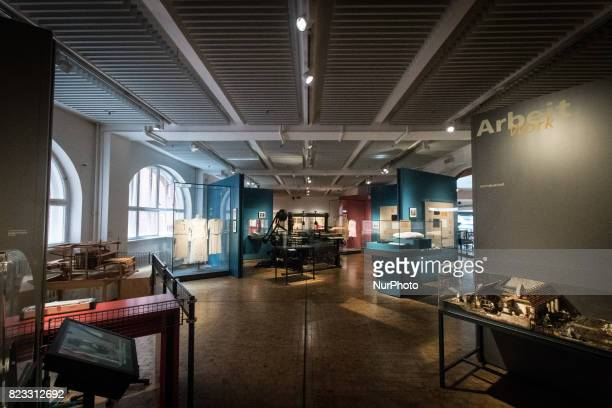 View of the Deutsches Technikmuseum in Berlin Germany on July 212017 The Deutsches Technikmuseum Berlin founded in 1982 is the museum of science and...