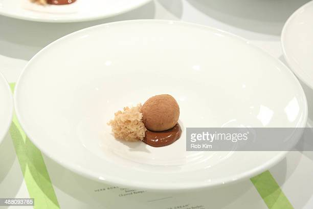 A view of the dishes at Starwood Preferred Guest's Gourmet Experience of a Lifetime with Chef Thomas Keller at Per Se for Luck SPG Members Courtesy...