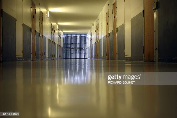 View of the Domenjod prison on October 16 2014 in SaintDenis de la Reunion on the French Indian Ocean island of La Reunion AFP PHOTO RICHARD BOUHET