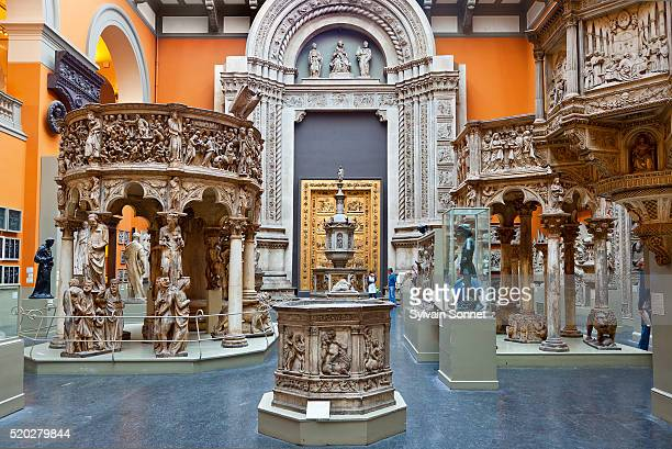 View of the East Cast Court at the Victoria and Albert Museum