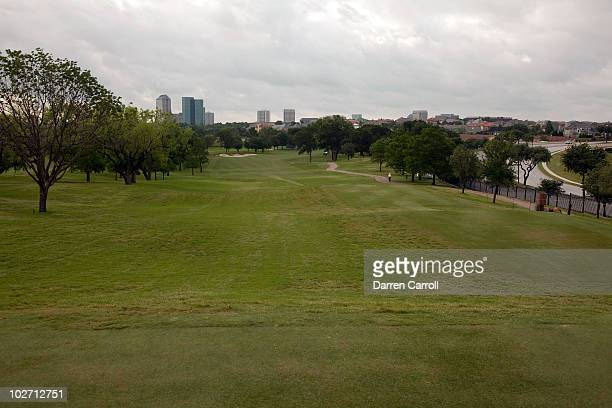 A view of the eighth hole during the HP Byron Nelson Championship at TPC Four Seasons Resort Las Colinas on May 21 2010 in Irving Texas