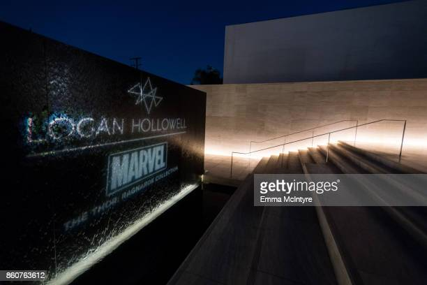 A view of the entrance to Milk Studios at 'Logan Hollowell | Marvel Thor Ragnarok Collection Dinner at MILK Studios LA' on October 12 2017 in Los...