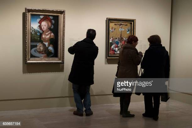 View of the exhibition quotMasterpieces of Budapest from the Renaissance to the Vanguardsquot at the ThyssenBornemisza Museum in Madrid February 16...
