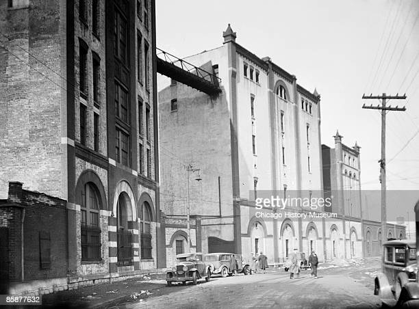 A view of the exterior of one of Terry Druggan's breweries located on 12th Street and Oakley Avenue Chicago 1924 From the Chicago Daily News...
