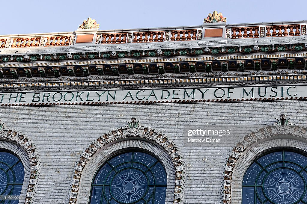 A view of the exterior of Peter Jay Sharp Building at BAMcinemaFest 2012 screening Of 'Nobody Walks' at the Brooklyn Academy of Music on June 23 2012...