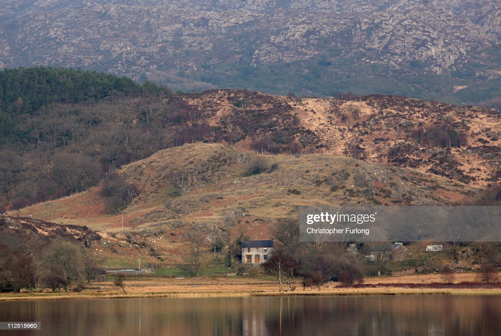 A view of the farm house at Llyn Dinas in Snowdonia National Park on March 24 2011 in Bethania Wales The National Trust is launching a GBP1 Million...