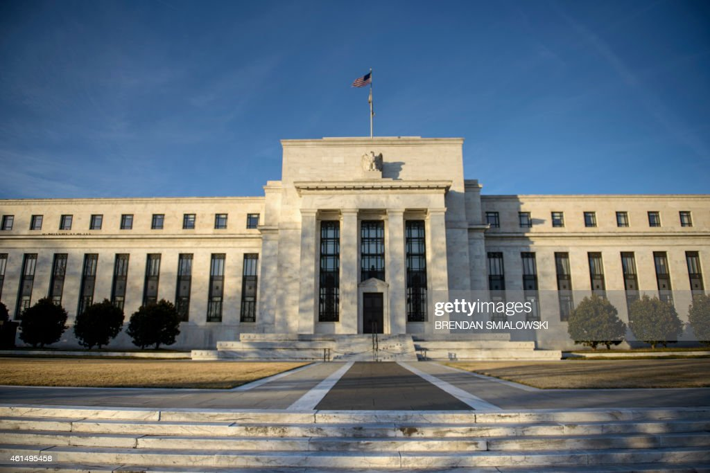 A view of the Federal Reserve January 13 2015 in Washington DC AFP PHOTO/BRENDAN SMIALOWSKI