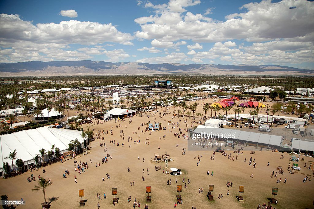 A view of the fesitval is seen during 2016 Stagecoach California's Country Music Festival at Empire Polo Club on May 01, 2016 in Indio, California.