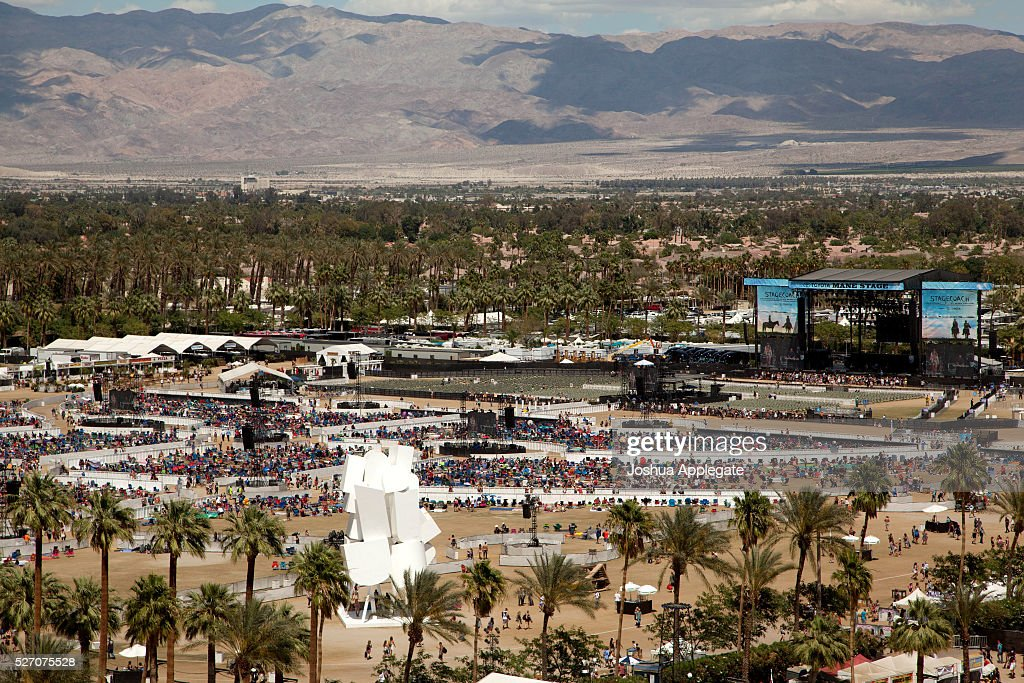 A view of the festival is seen during 2016 Stagecoach California's Country Music Festival at Empire Polo Club on May 01, 2016 in Indio, California.
